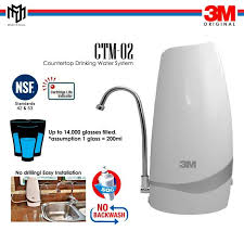 3m countertop drinking water system