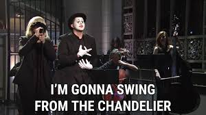 chandelier official s sia in images elegant swing from the sia swing from the chandelier r musethecollective i wanna