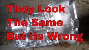 How To Identify 4r70w 4r75w Aod Transmission Case