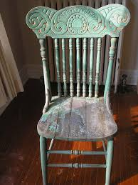 distressed antique furniture. totally authentic distressed green antique press back chair i am in love furniture c
