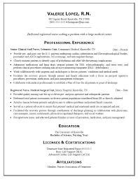Nursing Resume Examples Resumes New Registered Nurse I16