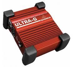 Активный <b>директ бокс Behringer ULTRA-G</b> GI100 | Купить с ...