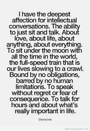 Intellectual Quotes Magnificent Intellectual Conversations Quotes