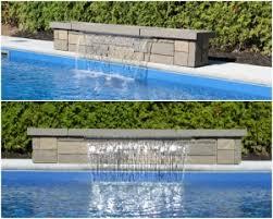 inground pool waterfalls. Cascade-eau-nirvana Inground Pool Waterfalls