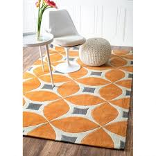 orange contour bath rug area burnt rugs white fluffy ikea coffee tables carpet color and brown