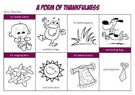 Thankful Coloring Pages Coloring Pages A Poem Of Thankfulness And