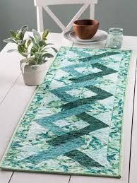 Table Runner Patterns Extraordinary EXCLUSIVELY ANNIE'S QUILT DESIGNS Tangles Table Runner Pattern