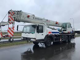 Hydraulic Zoomlion Truck Mounted Crane