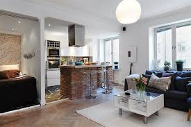 Living Room And Kitchen Design Home Design Ideas Contemporary Interior Design Kitchen Living Room