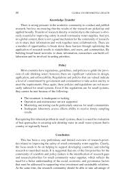 the social pillar of sustainable water health research gaps page 86