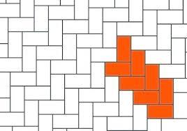 Carpet Tile Installation Patterns Herringbone Pattern Layout Laying Mannington