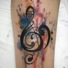 Hudba Tetování Archivy Tetování Umění Nápady