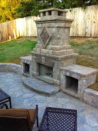 this outdoor fireplace is amazing diy home improvement bloggers regarding excellent amazing outdoor fireplaces