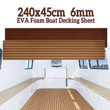 2400x450x6MM <b>EVA Foam</b> Car <b>Boat</b> Flooring Mat Teak Decking ...