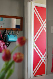 Wall Patterns With Tape Beautiful Painters Tape Designs Ideas Photos Home Design Ideas