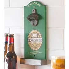 brasserie wall mounted bottle opener