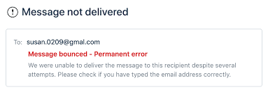 Email Deliver Email Delivery Failure Notification Freshdesk