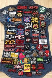 rock retro band punk diy iron sew on embroidered patch for denim jacket vest cap 1 of 1free see more