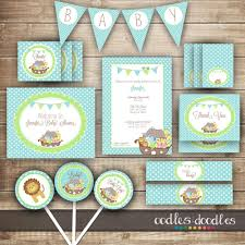 noahs ark baby shower ideas for baby shower party. Boy\u0027s Baby Shower PARTY PACKAGE / Noah\u0027s Ark By OandD, Noahs Ideas For Party