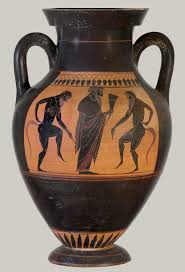 greek art in the archaic period essay heilbrunn timeline of   terracotta amphora jar