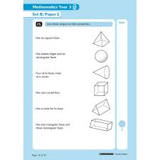 Practice Paper Year 3 Sats Practice Papers Pack By Scholastic Buy From Examninja