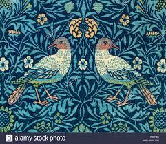William Morris Textile Designs William Morris Bird Pattern Detail Fabric Design 1878