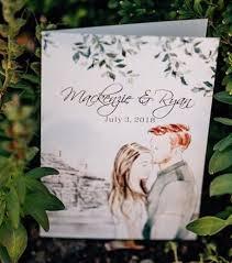 Wedding Ceremony Brochure Wedding Program Order Of Service And Ceremony Booklet Ideas