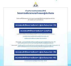 www.sso.go.th ประกันสังคมมาตรา 40 เช็คสิทธิ วันที่ 7 ก.ย. ตรวจ
