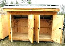 outdoor wood storage sheds wooden garden tool shed plans