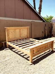 cheap king platform bed. $80 DIY King Size Platform Bed Frame Cheap