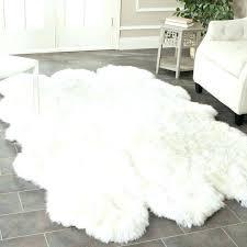 faux fur rug white faux sheepskin rug medium size of area sheepskin area rug pink sheepskin