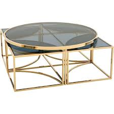 Glass nesting coffee tables Tempered Glass Glass Nesting Coffee Tables Gold Blue Glass Nesting Round Coffee Table Liked On Black Glass Nest Coffee Tables Creative Living Room Ideas Glass Nesting Coffee Tables Gold Blue Glass Nesting Round Coffee