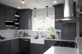Small U Shaped Kitchen Picture Of Small U Shaped Kitchen With Black Cabinet White Granite