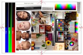 Authentic Epson Color Print Test Page Colour Laser Printer 4098