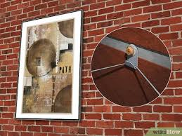 how to hang something on brick 12