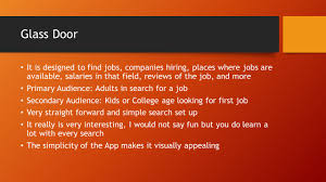 App Review By Brady Dylan Caleb And Michael Career Resume