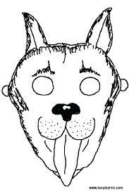 Farm Animal Templates Printable Printable Dog Face Template Jungle