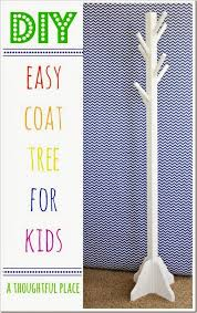 Diy Kids Coat Rack So cute our kids would love this diytutorials Pinterest 74