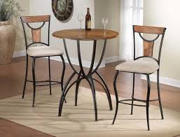image of indoor bistro table and chairs style