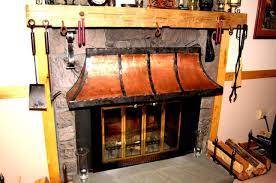 gas fireplace deflector hood round fireplace hood