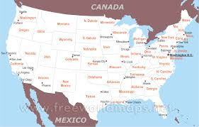 map of usa with states and cities free download at maps