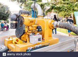 Water Pumping Machine High Resolution Stock Photography and Images - Alamy