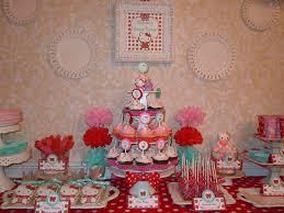Hello Kitty Red Pink Aqua Birthday Party Ideas Photo 1 Of 32