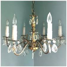 vintage crystal chandelier chandeliers for new house antique brass parts vintage crystal chandelier