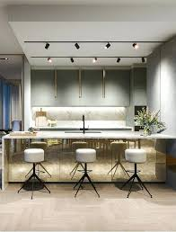 track lighting pendants. Cool Track Lighting Lights Over The Kitchen Island And A Working Surface Pendants