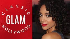 how to clic hollywood glam makeup natural hair discocurlstv