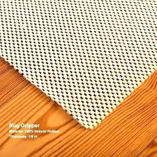 natural rubber rug pad sophisticated for hard floors uk