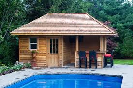 image of southern living pool house plans