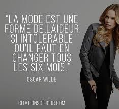 Citation Doscar Wilde Sur La Mode