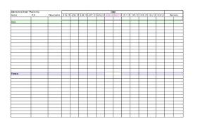 Attendance Tracker Free Student Attendance Tracker Template Bindext Co